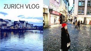 TRAVEL VLOG: ZURICH, SWITZERLAND/MISS SINGH VLOGS