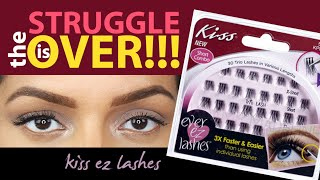 Baixar How To: Apply Kiss Ever EZ False Lashes - EASIEST WAY TO PUT ON LASHES! PERIOD!!!