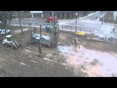 Hatch Centre, Geothermal drilling, Nov. 10