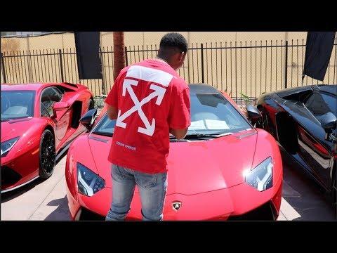ZIAS & BLOU Lamborghini Shopping