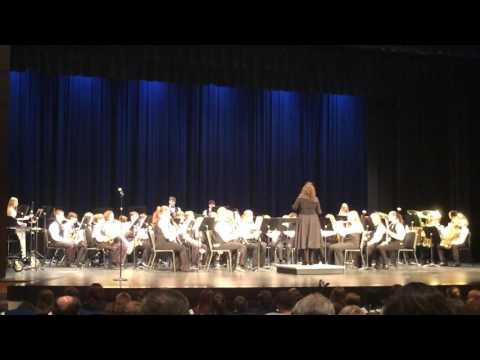 North Jefferson middle school Pre MPA concert advance band 2