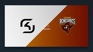 CS:GO - SK vs. Renegades [Mirage] Map 1 - NA Day 17 - ESL Pro League Season 6