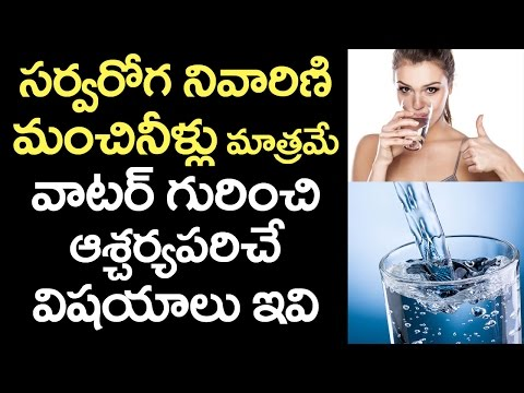 AMAZING Benefits of Drinking Water | WATER and Its Uses for Human Body Parts | VTube Telugu