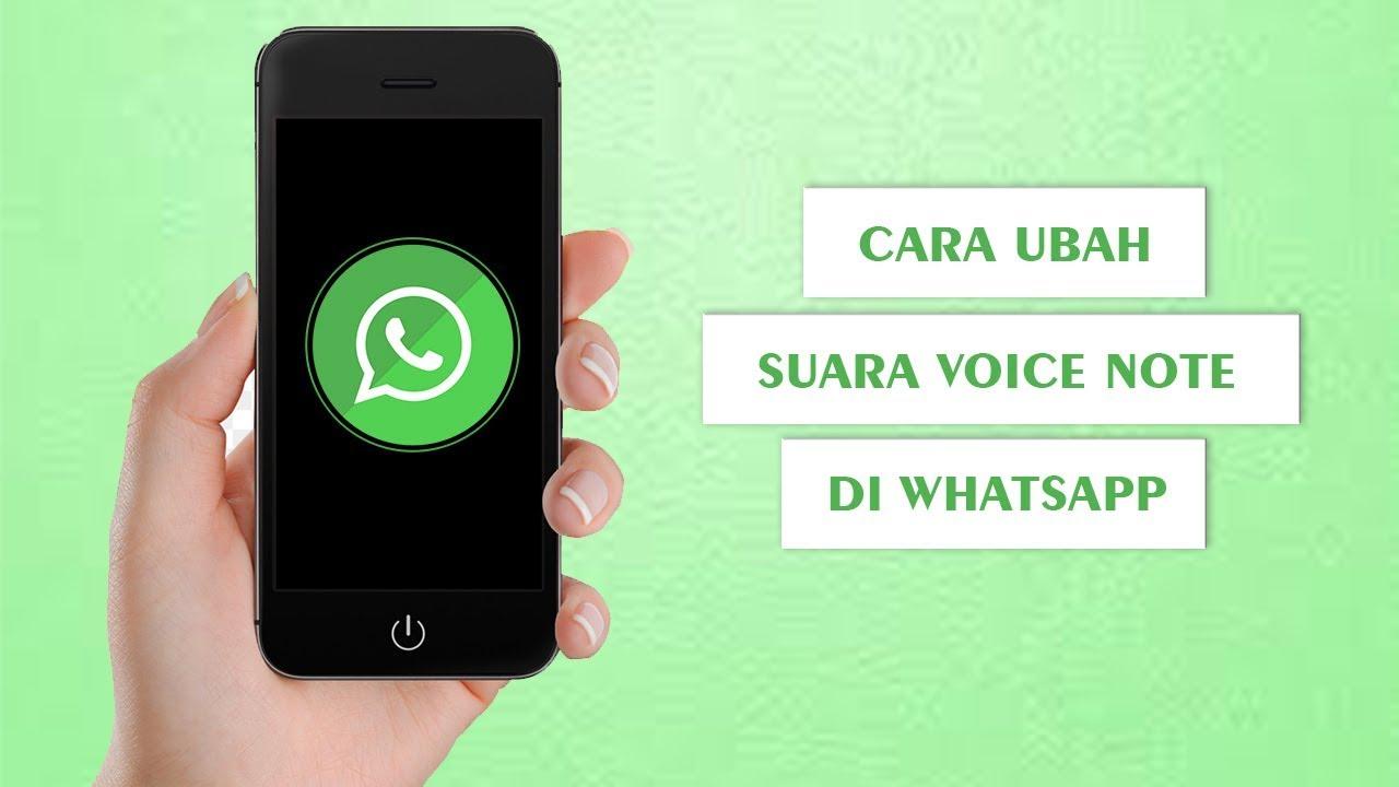 Cara Ubah Suara Unik Dan Aneh Voice Note Di Whatsapp Dari Alien Hingga Hantu Youtube