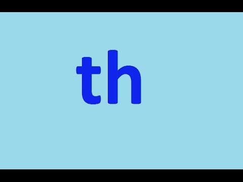 Звук Th - как произносить