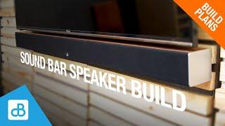 SOUND BAR V2 - Speąker Build - by SoundBlab