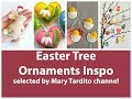 Easter Ornament Craft Ideas - Spring Decorating Ideas - Easter Decorations - Crafts to Make and Sell