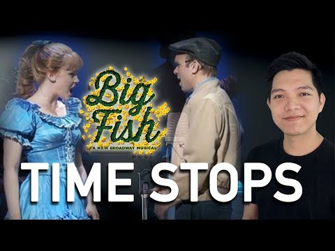 Time Stops (Edward Part Only - Karaoke) - Big Fish The Musical