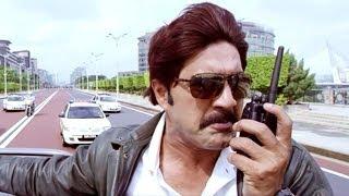 Shadow Action Scenes - ACP Pratap And His Team Chase Shadow - Venkatesh, Srikanth