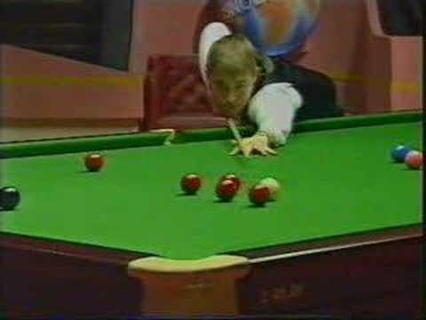 Snooker: 147 by Stephen Hendry in 1995 ( vs Jimmy White)