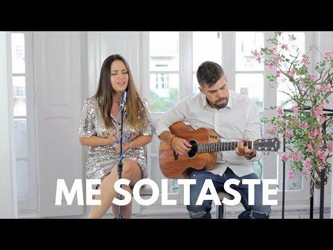 ME SOLTASTE - JESSE Y JOY | COVER ACÚSTICA - CAROLINA Y SERGIO