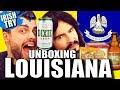 Irish People Taste Test New Orleans 'LOUISIANA' - Food / Snacks!!