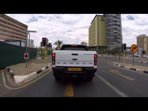 Namibie Windhoek filmée en Go pro / Namibia Windhoek filmed by Go pro