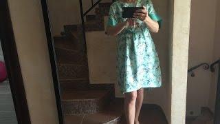 Как сшить платье быстро/ Мастер класс по шитью(В этом обучающем видео по шитью мы шьем платье по выкройке журнала