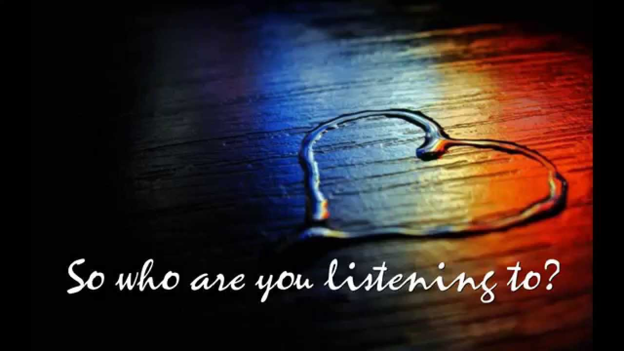 Image result for who are you listening to
