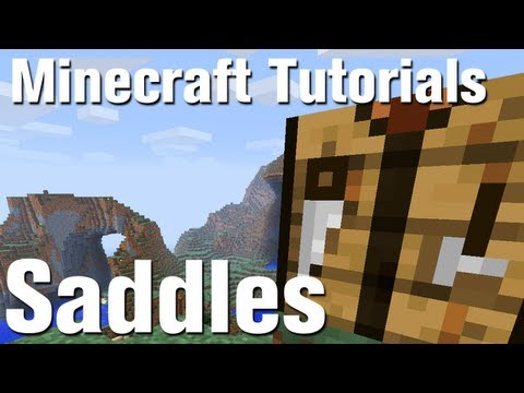 how to get a saddle in minecraft xbox one