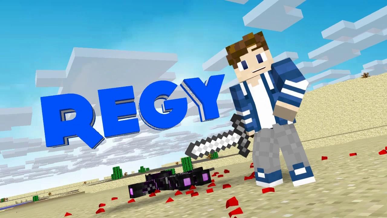 #56 Minecraft Intro ~Regy~ [Mine-Imator]: Remake My First ...
