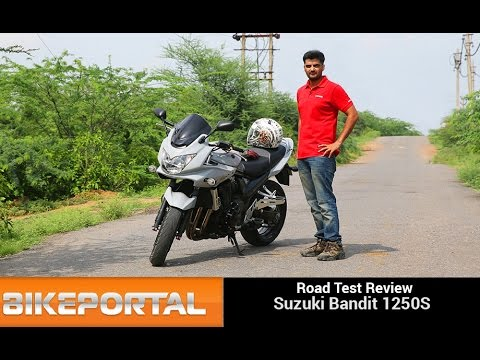 Suzuki Bandit 1250S Test Ride Review - Bikeportal