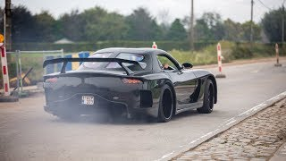 Sportscars Accelerating - Veilside RX-7, 800HP RS6 C7, Decat M3 F80, TTE700 TT-RS, 800HP GT-R,...