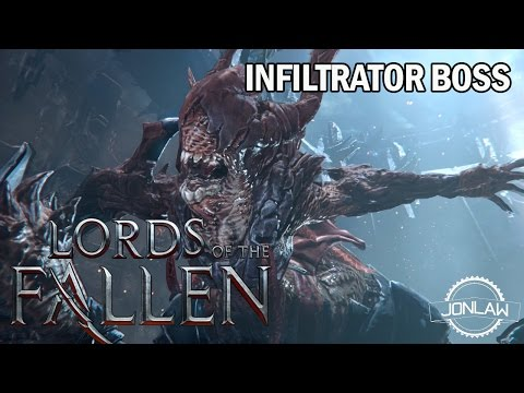 Lords of the Fallen - Infiltrator Boss - My Strategy Gameplay