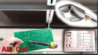 Жөндеу үшін жетектің секциялық қақпалар CAME V900E басқару блогы ZA56