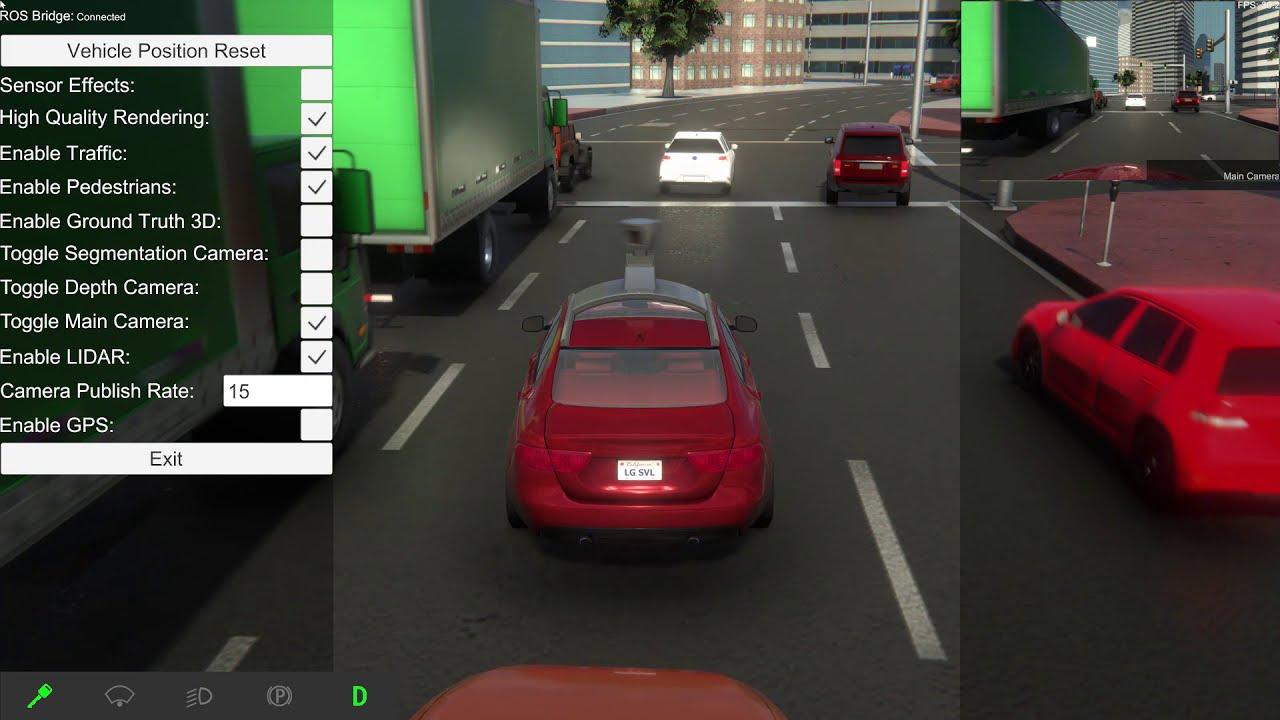 Autoware on LGSVL Simulator