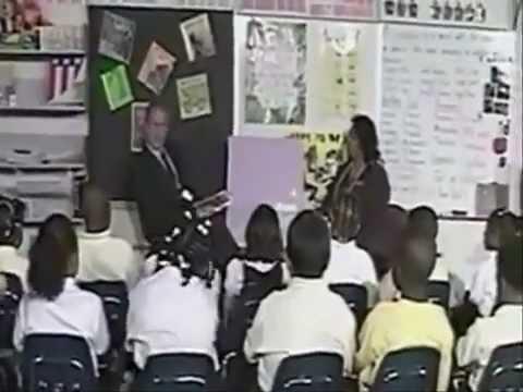Reading exercise in primary school