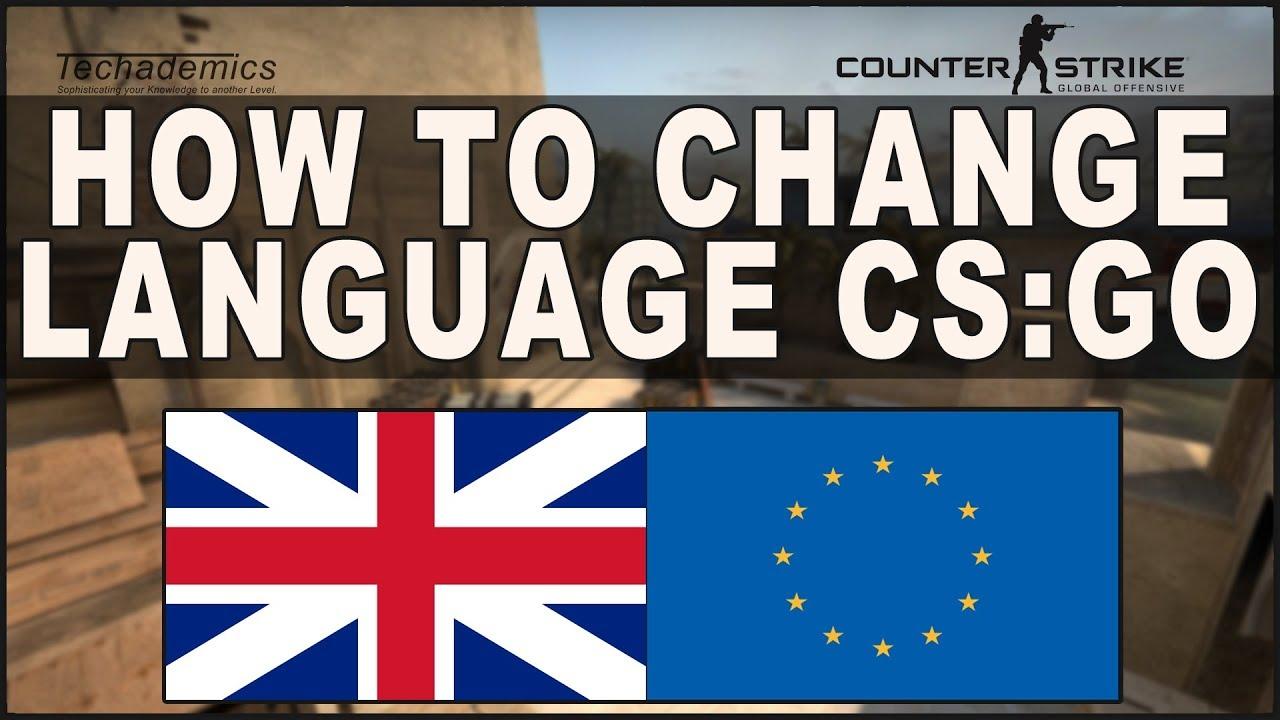 Csgo Change Language