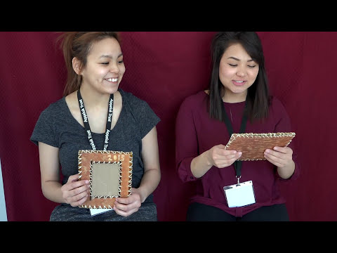 BIRCH BARK PICTURE FRAME WORKSHOP