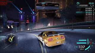Need For Speed Carbon - Speedtrap Silver [1080p60 - GTX 1080 - 32/50]