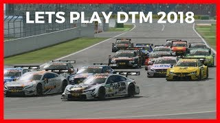 DTM 2018 Game PC - DTM Experience 2016  - Hockenheim Gameplay HD [AMG]