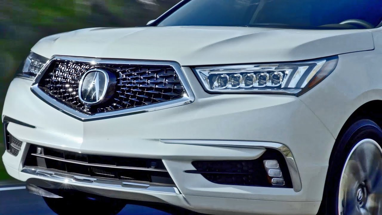 FIRST LOOK Acura MDX YouTube - Acura mdx grille