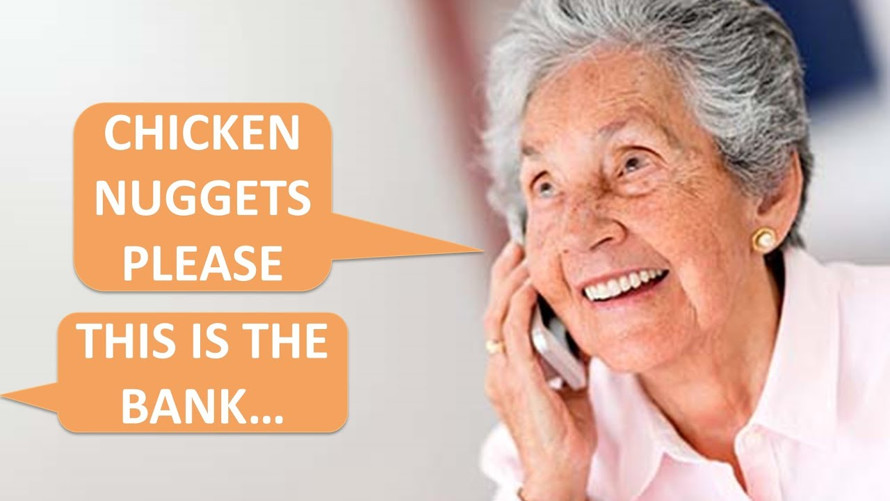 Elderly woman calls the bank for Chicken NUGGETS! r/TalesFromCallCenters