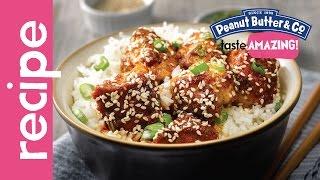 Peanut Butter Sesame Chicken Recipe