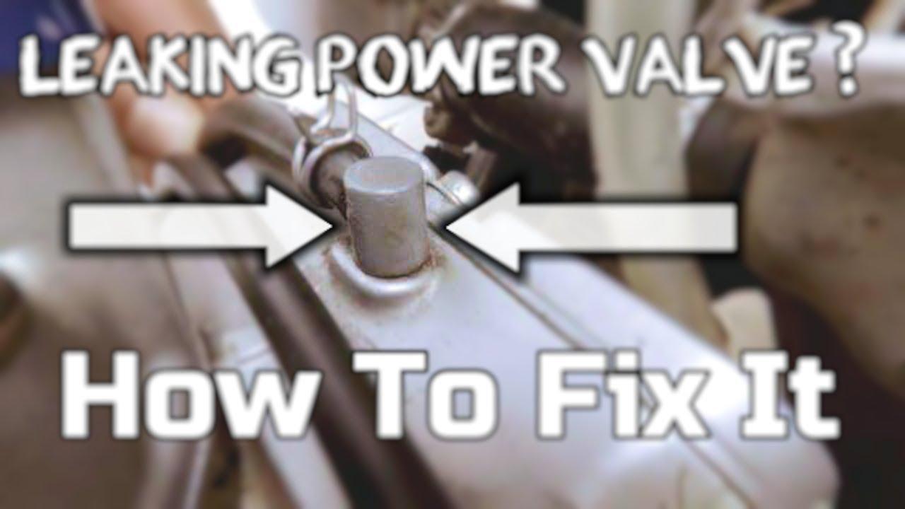 How to fix leaking power valve Suzuki RM250