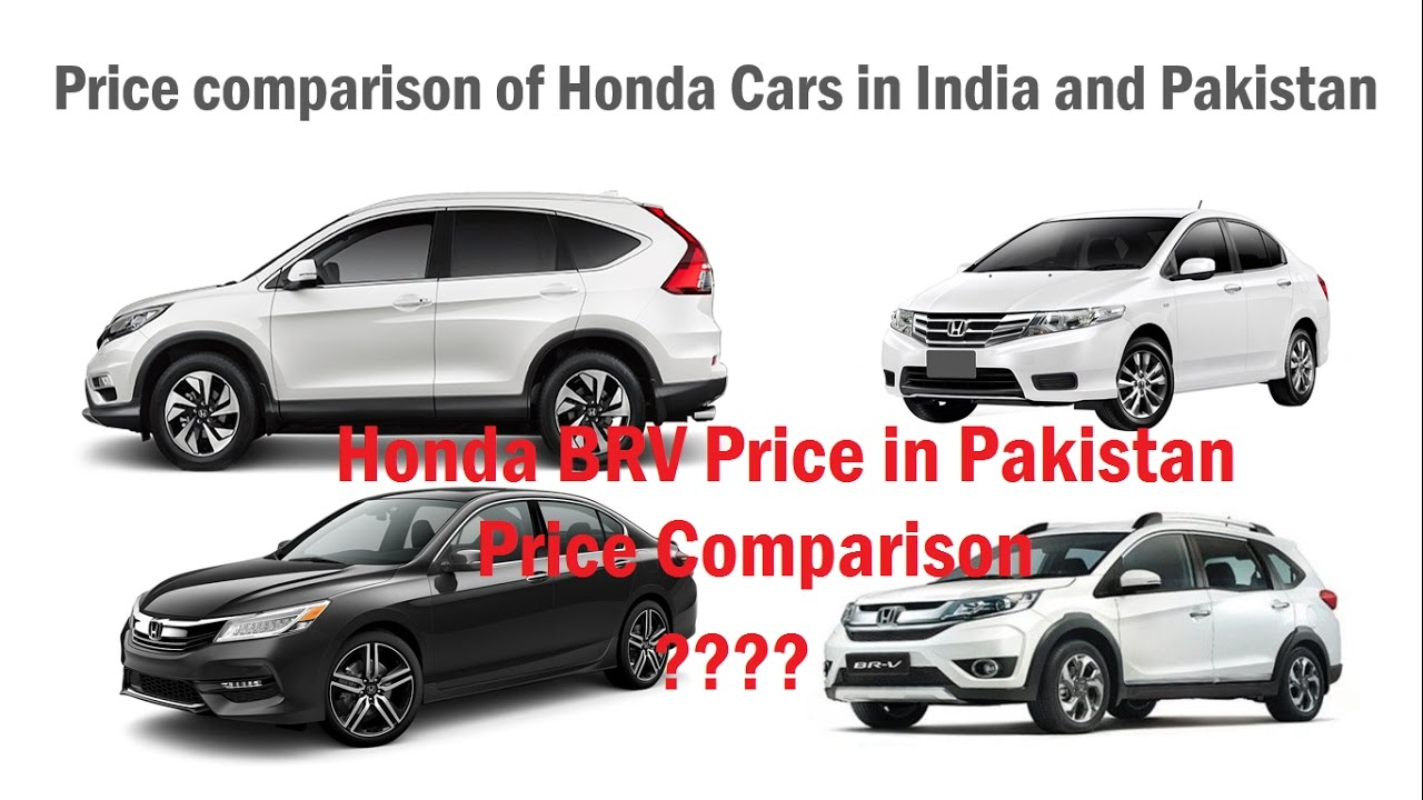 Honda Br V Price Pakistan Launch Analysis Price Comparison Of