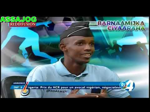 Djibouti: Barnaamijka Ciyaaraha ( l'équipe de la Gendarmerie)