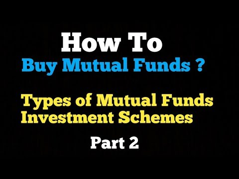 Start Mutual Funds Investments | Types of Mutual Fund Investment Schemes | Part 2