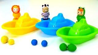 Farben Lernen für Kinder. Spiel mit kunterbuntem Spielzeug!