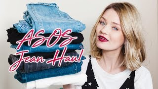 ASOS JEANS HAUL & TRY ON - SIZING DISASTER?! | Laura Bradshaw