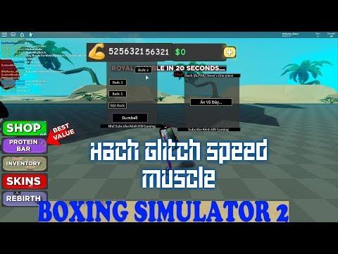 Funtrix Roblox Boxing Simulator 2 Glitch Muscle Speed Boost Youtube