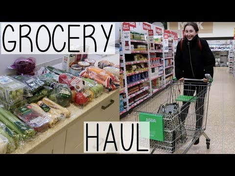 FULL FOOD GROCERY HAUL & LAZY VEGAN MEALS | MOVING BACK TO UNI VLOG