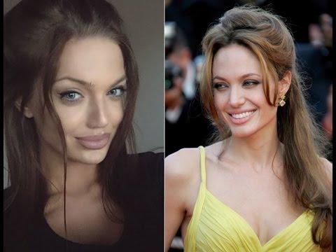 Самый популярный двойник Анджелины Джоли