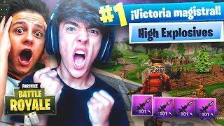 EL MODO DE JUEGO MÁS DIVERTIDO DE FORTNITE!! (HIGH EXPLOSIVES) - Agustin51