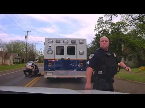 Stolen Ambulance Chase, Palestine, Texas