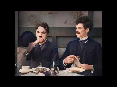 Charlie Chaplin - The Immigrant (Laurel \u0026 Hardy) Colorization