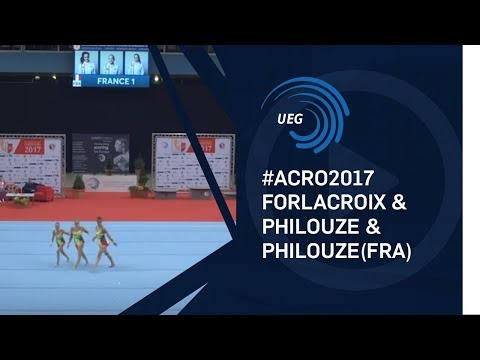 Women's group France - 2017 junior European Championships, dynamic final