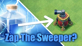 Zap The Sweeper? Why not! TH9 War Strategy   Clash Of Clans