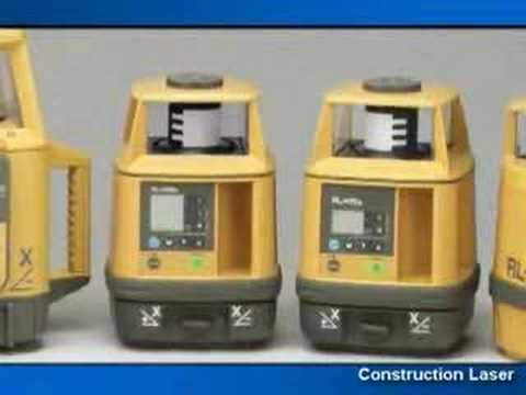 construction laser level grading youtube. Black Bedroom Furniture Sets. Home Design Ideas