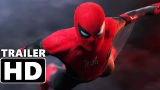 SPIDER-MAN: FAR FROM HOME - Teaser Trailer (2019) Tom Holland, Jake Gyllenhaal Superhero Movie